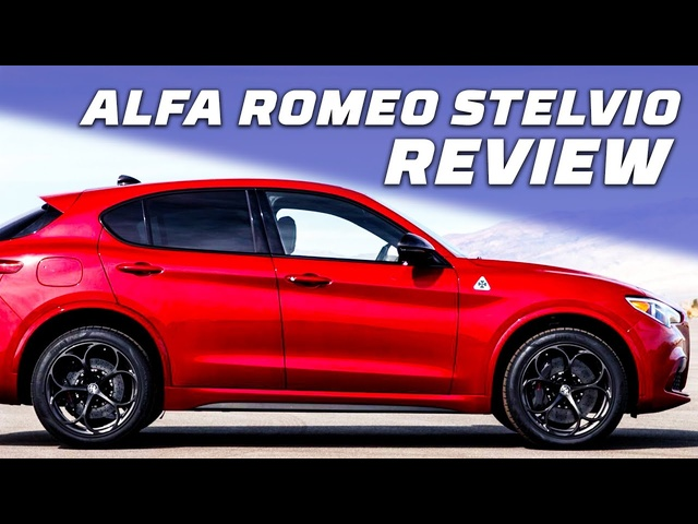 An SUV that Drives Like a Sportscar! What You Need to Know—2020 Alfa Romeo Stelvio | MotorTrend