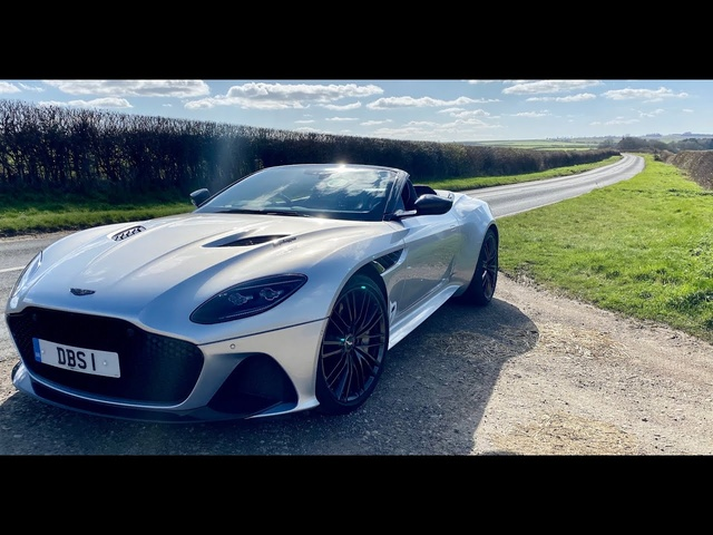 New Aston Martin DBS Superleggera Volante. Aston's 211mph soft-top!