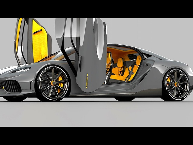 Automated Twisted Synchrohelix Actuation Doors (KATSAD) Demo Video Koenigsegg Doors Carjam TV 2020