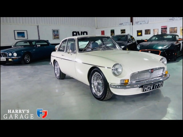 1966 MGB GT LE, review of this ultra rare MG performance car