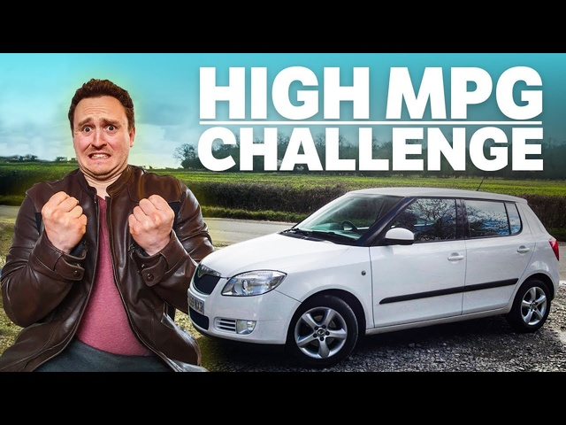 How Much MPG Can You REALLY Get From A £1000 Skoda?