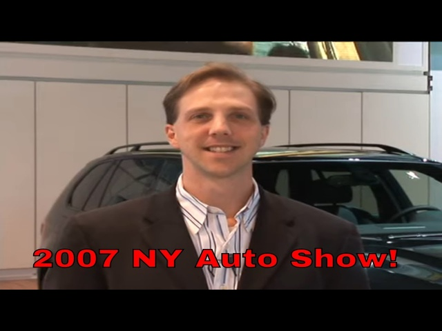 2007 New York Auto Show | RETRO REVIEW with Steve Hammes