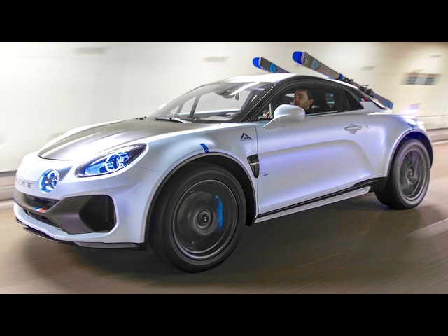 Alpine A110 SportsX Off Roader Alpine A110 Rally Car Alpine Off Roader Alpine Special Edition CARJAM