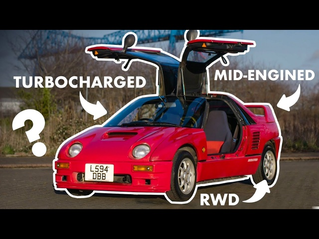 Mazda Autozam AZ-1: Driving The JDM Micro Supercar! | Carfection
