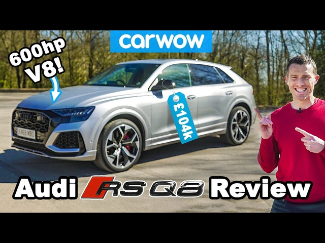The Audi RSQ8 is the ultimate RS car! REVIEW.