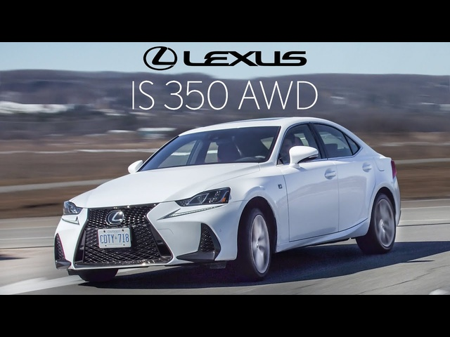 The 2020 Lexus IS350 F Sport isn't as F Sporty as it should be