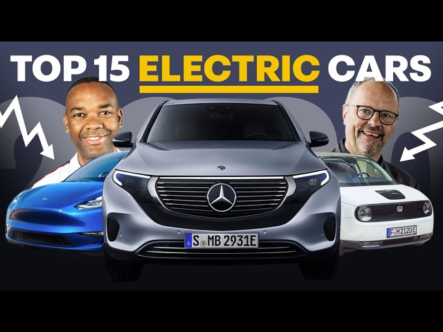 Top 15 BEST Electric Cars In 2020 | ft. Fully Charged Show