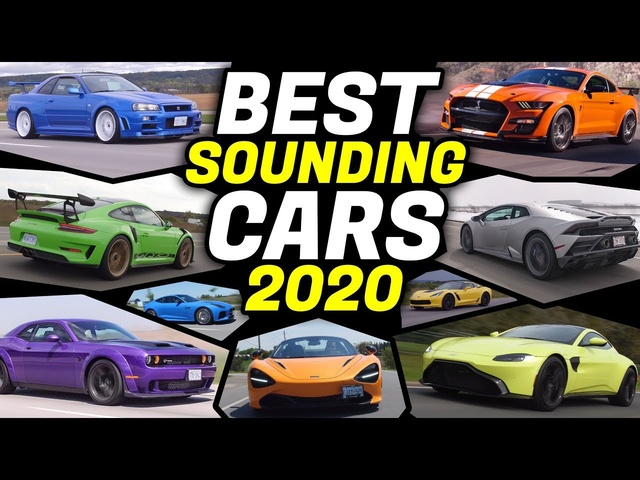 BEST Sounding Cars 2020 - PURE SOUND! Which one Sounds the Best?