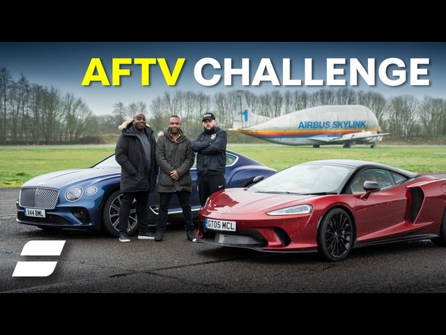 <em>Bentley</em> vs McLaren SLALOM Challenge with AFTV | 4K