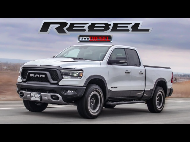 The 2020 Ram 1500 Rebel EcoDiesel has the MOST Torque
