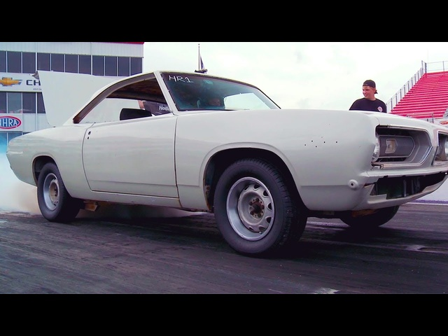 Junkyard Plymouth Barracuda Gets Nitrous!! | Roadkill #TBT | MotorTrend