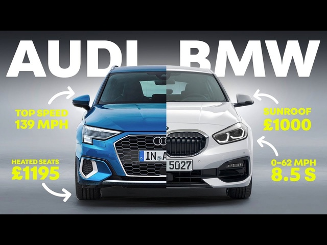 <em>Audi</em> A3 vs BMW 1 Series: Which Posh Hatch Is Best?
