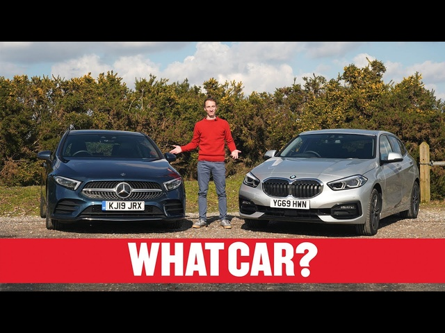2020 BMW 1 Series vs Mercedes A-Class review – what's the best premium family car? | What Car?