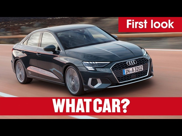 2020 <em>Audi</em> A3 Saloon REVEALED – makeover for Mercedes A-Class Saloon rival | What Car?