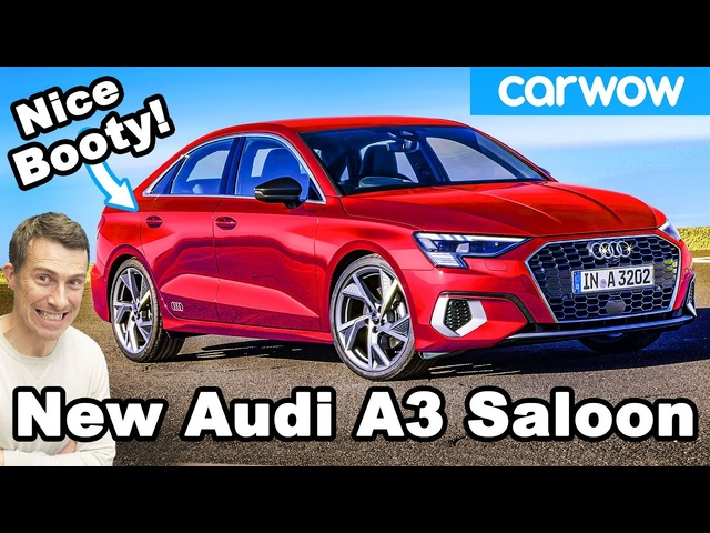New Audi A3 Saloon: it's nicer than an A4!