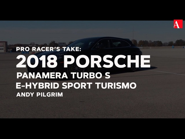 We Take the Porsche Panamera Turbo S E-Hybrid Sport Turismo to the Edge at NCM Motorsports Park
