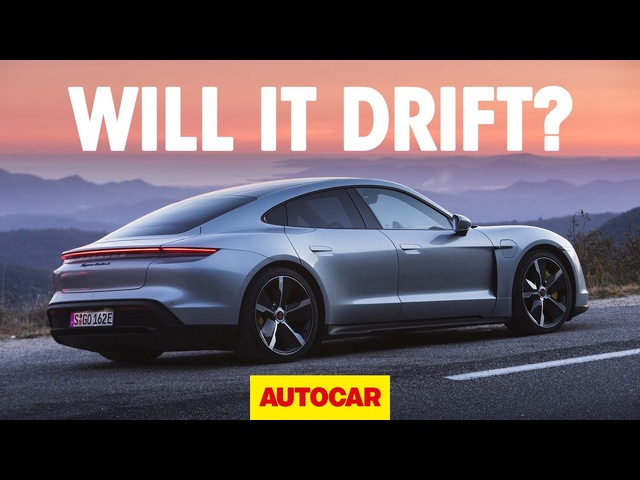 WILL IT DRIFT? | The Porsche Taycan Turbo | Autocar