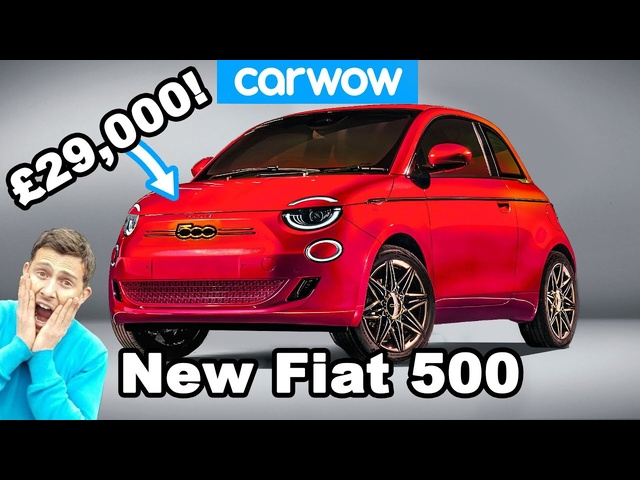 The all-new Fiat 500 costs £29,000!?! Find out why...