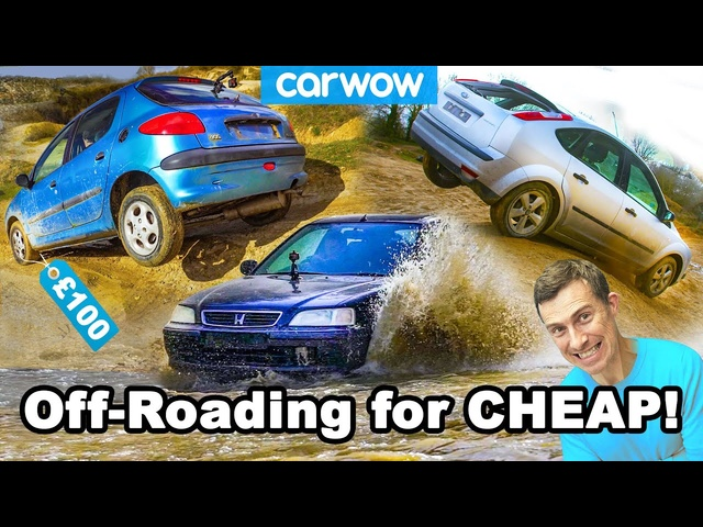 I went off-roading in £100 hatchbacks: proof you don't need a4x4!