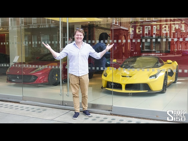 Supercar Window Shopping at London's Best Dealerships!