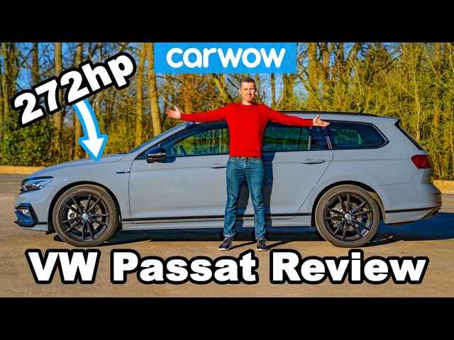 The 'budget' Audi RS4: new VW Passat R-Line REVIEW.