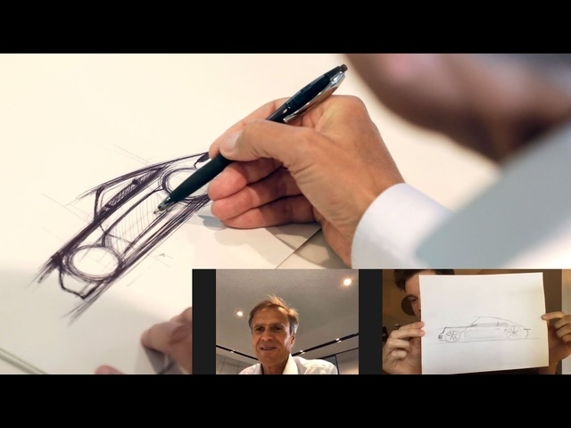 Learn How to Draw a 911 From Porsche's Head of Design