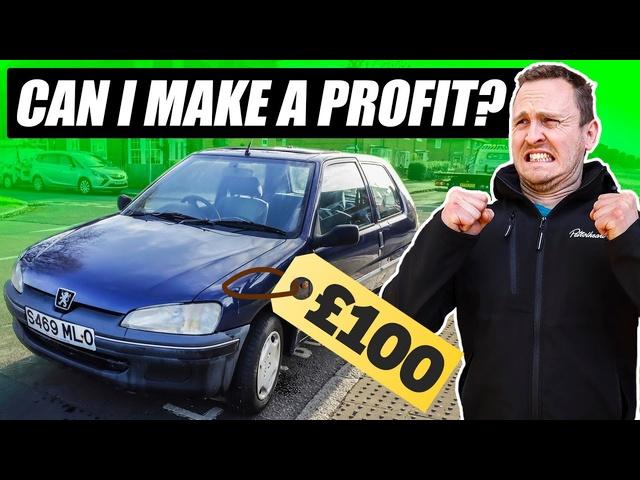 Can ITurn A£100 Car Into BIG Profit?