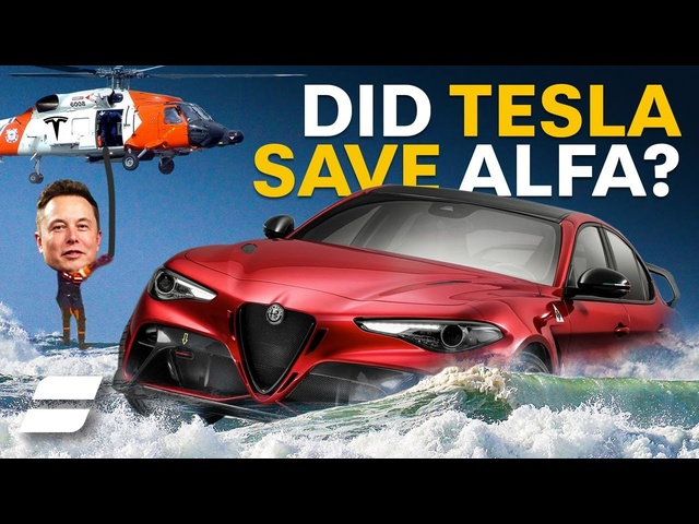 Did <em>Tesla</em> SAVE Alfa Romeo?