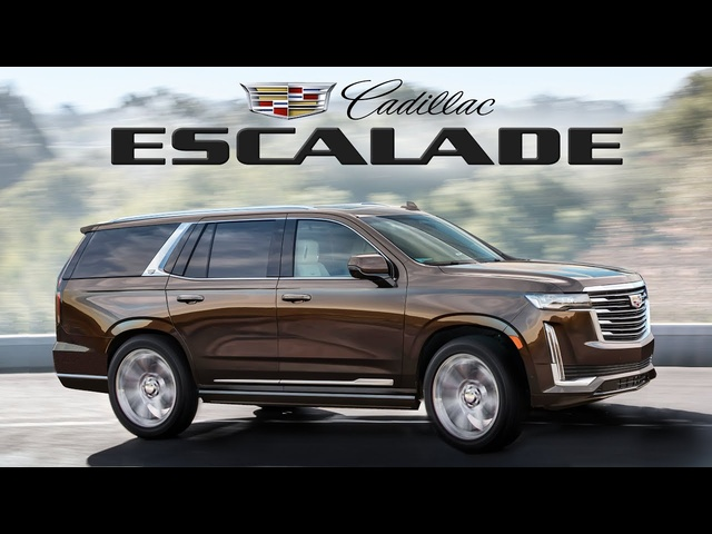 2021 Cadillac Escalade in Depth Look - Finally ALL NEW!