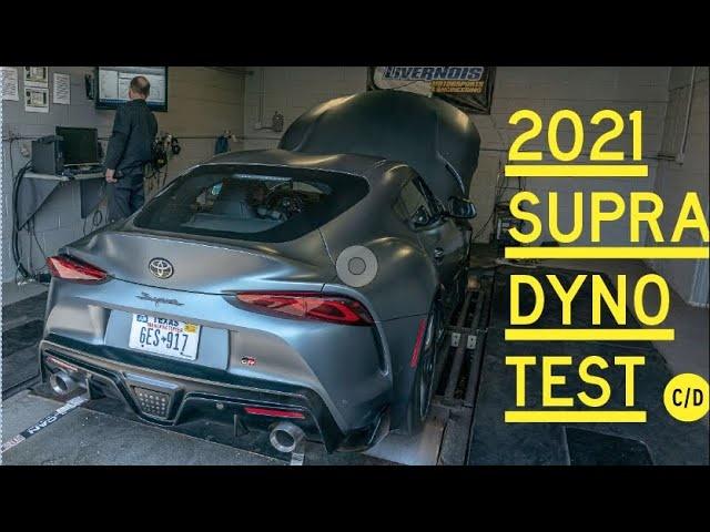 2021 Toyota Supra Dyno Test