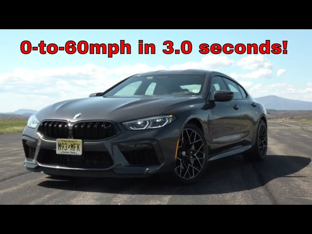 2020 BMW M8 Competition Gran Coupe | The Devil Inside | Steve Hammes