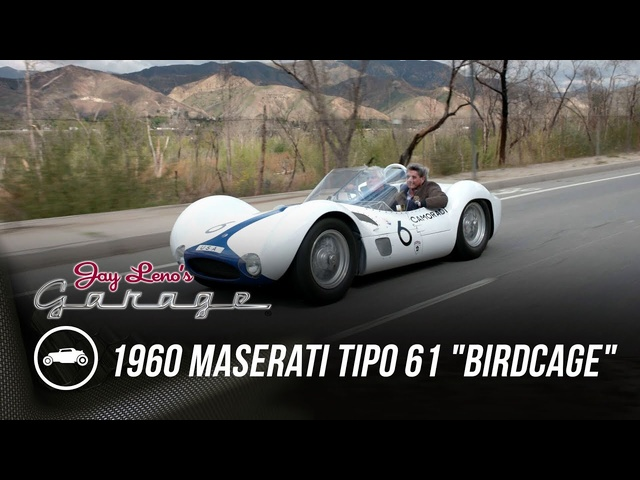 "1960 Maserati Tipo 61 ""Birdcage"" -Jay Leno's Garage"