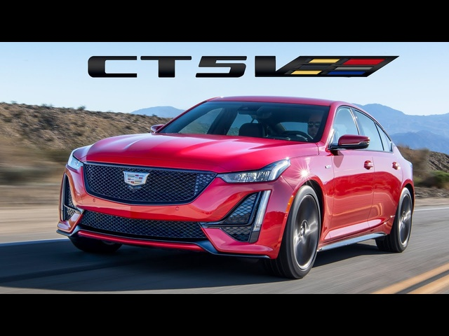 2020 Cadillac CT4-V & CT5-V In Depth Comparison - Blackwing Supercharged V8 Manual?! YES!