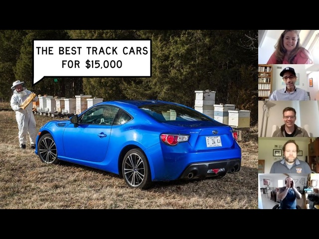 Finding the Best Track Cars for $15,000: Window Shop with Car and Driver.