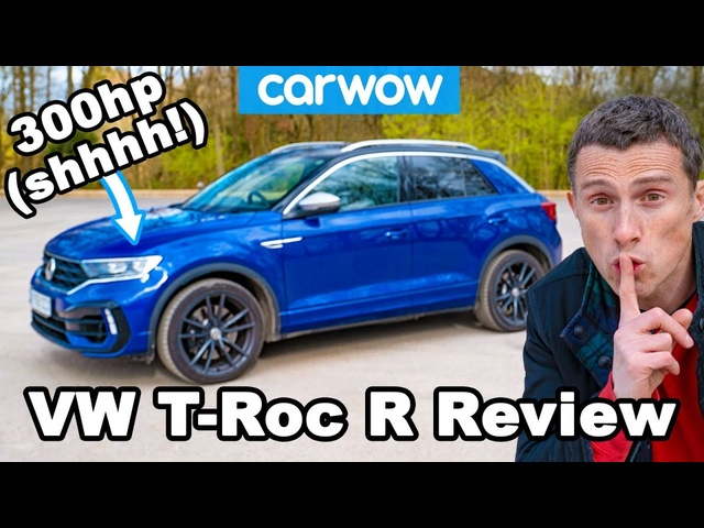 VW T-Roc R review - it's a Golf R in sheep's clothing!