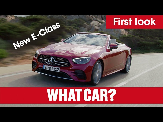 New 2020 Mercedes E-Class revealed – full details on saloon, estate, cabriolet, coupe | What Car?
