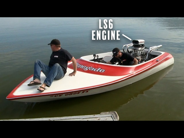 Testing the LS Engine Boat! From a '74 Chevy to the Water! | Roadkill | MotorTrend
