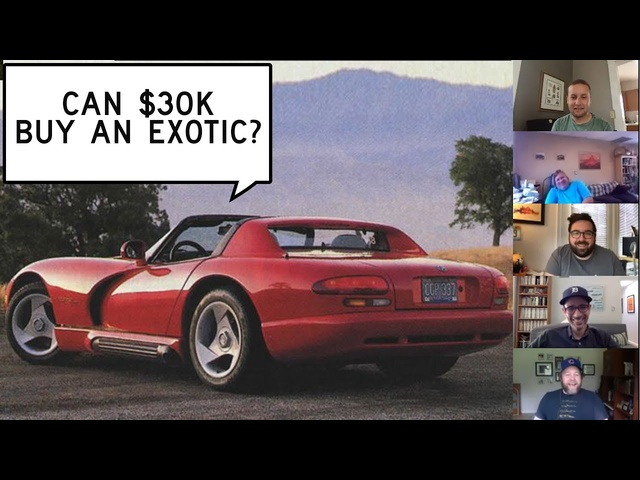We Find Exotics for $30,000: Window Shop with Car and Driver