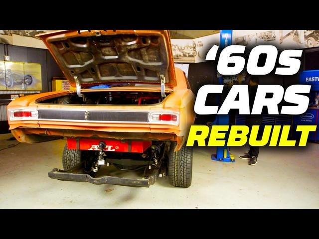 '60s Cars Rebuilt! Massive Horsepower Added | Hot Rod Garage | MotorTrend