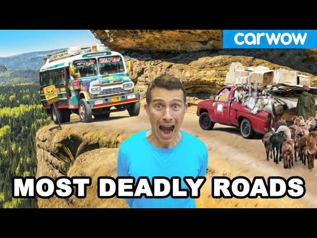 The 13 MOST DANGEROUS ROADS in the world!
