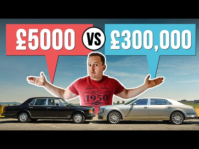 £5000 Luxury Car VS £300,000 Luxury Car!
