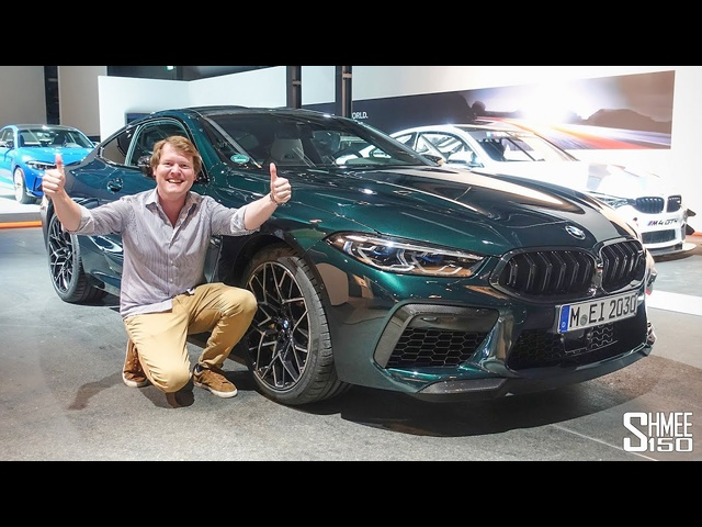 IT'S HERE! BMW M8 Competition Collection Day
