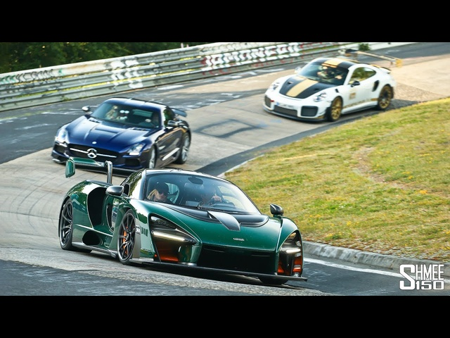 Chasing aSenna and GT2 RS MR on the Nurburgring!