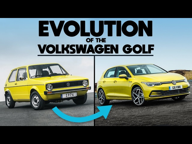 The Evolution Of The <em>Volkswagen</em> Golf