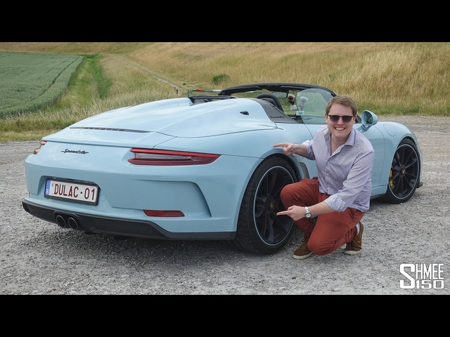 THIS is the New Porsche 911 Speedster! | My First Drive