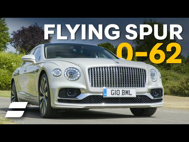 New <em>Bentley</em> Flying Spur: REAL WORLD 0-62mph Tested | 4K