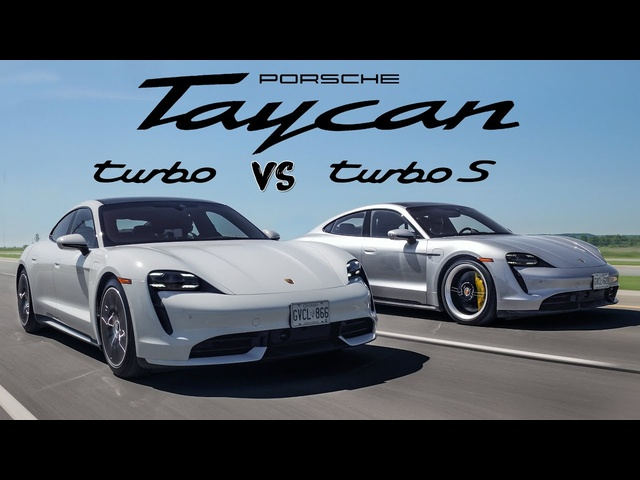 2020 Porsche Taycan Turbo vs Turbo S - Better than a 911 Turbo S!