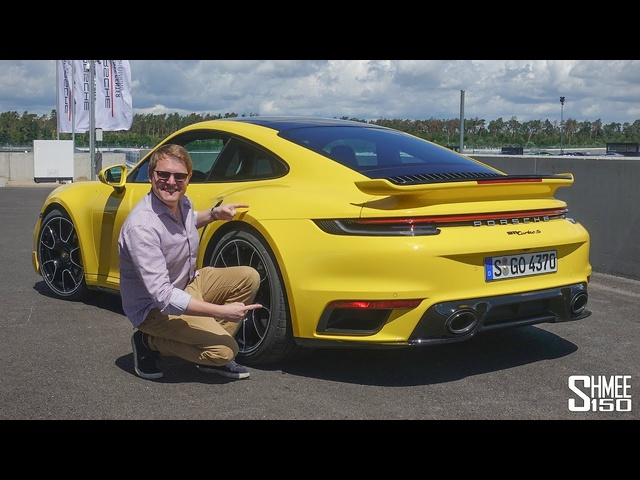 New Porsche Turbo S! 300km/h Flat Out Test Drive