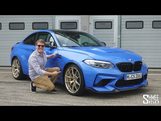 THIS is the New BMW M2 CS! FIRST DRIVE