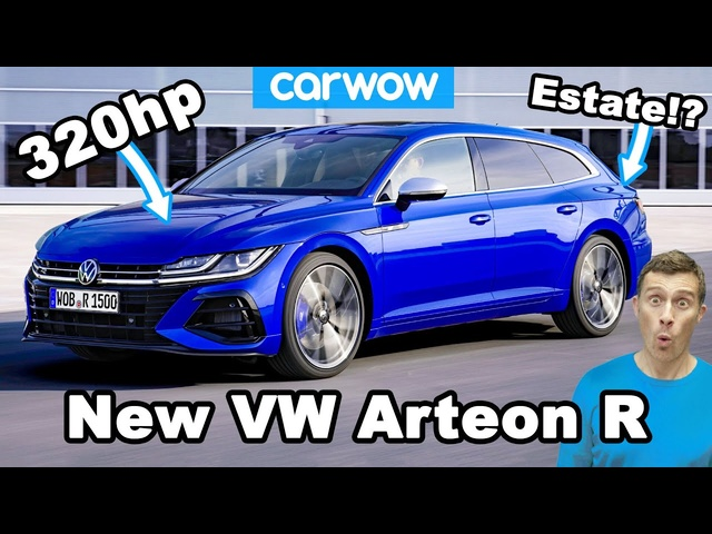 VW's RS4 - new Arteon gets 'R' treatment and estate body!
